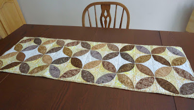 Orange Peel Table Runner