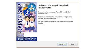 Download ERAPOR SMP 2017/2018 dan Panduan ERAPOR