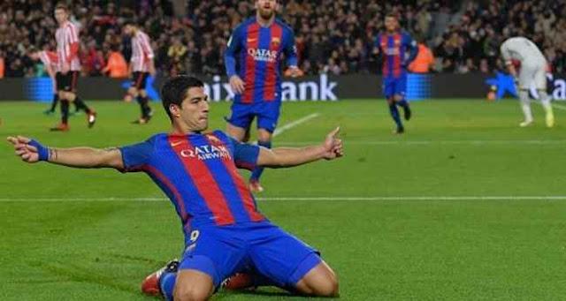 توقيت مباراة برشلونة وأتلتيك بلباو السبت 4-2-2017 والقنوات الناقلة للمباراة