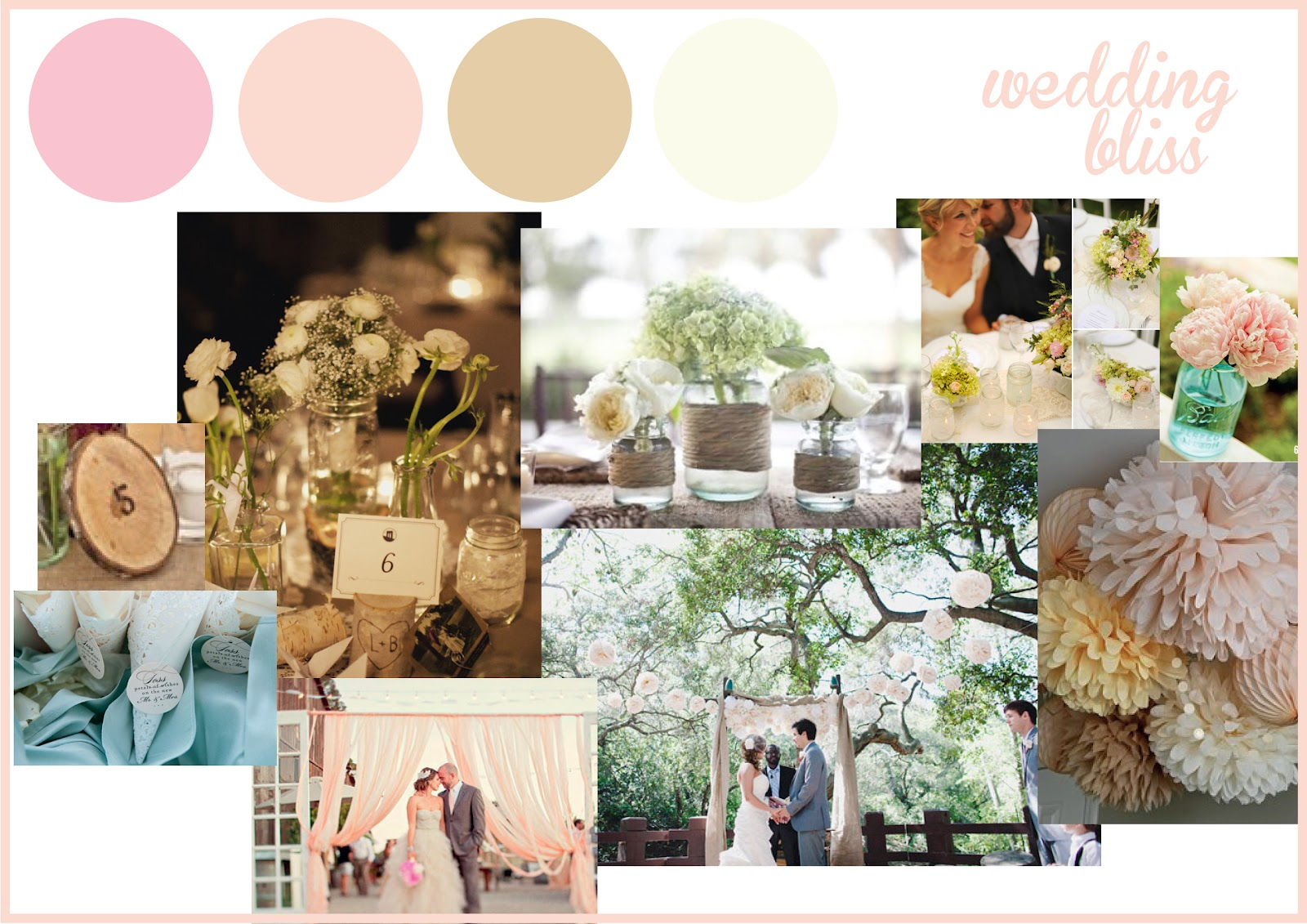 ALL YOU NEED IS LOVE + DESIGN: Romantic Style Wedding