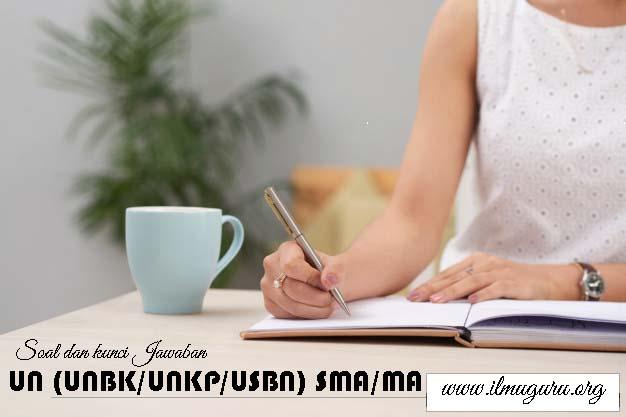 Soal UN (UNBK-UNKP) Bahasa Indonesia SMA 2020