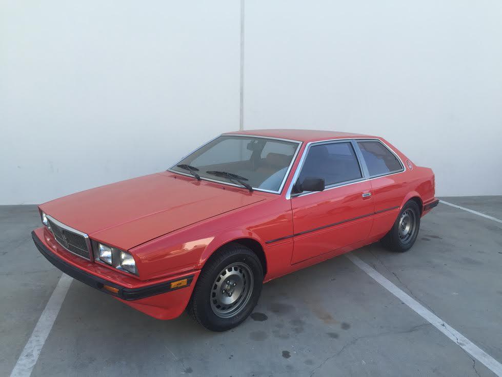 Daily Turismo: Wheeler Dealer Maserletric: 1985 Maserati ...