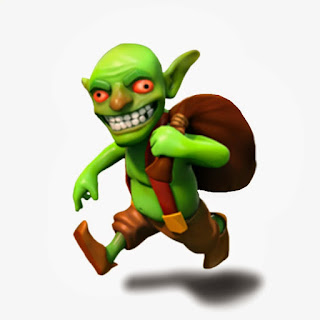 Goblin COC , Clash of clans