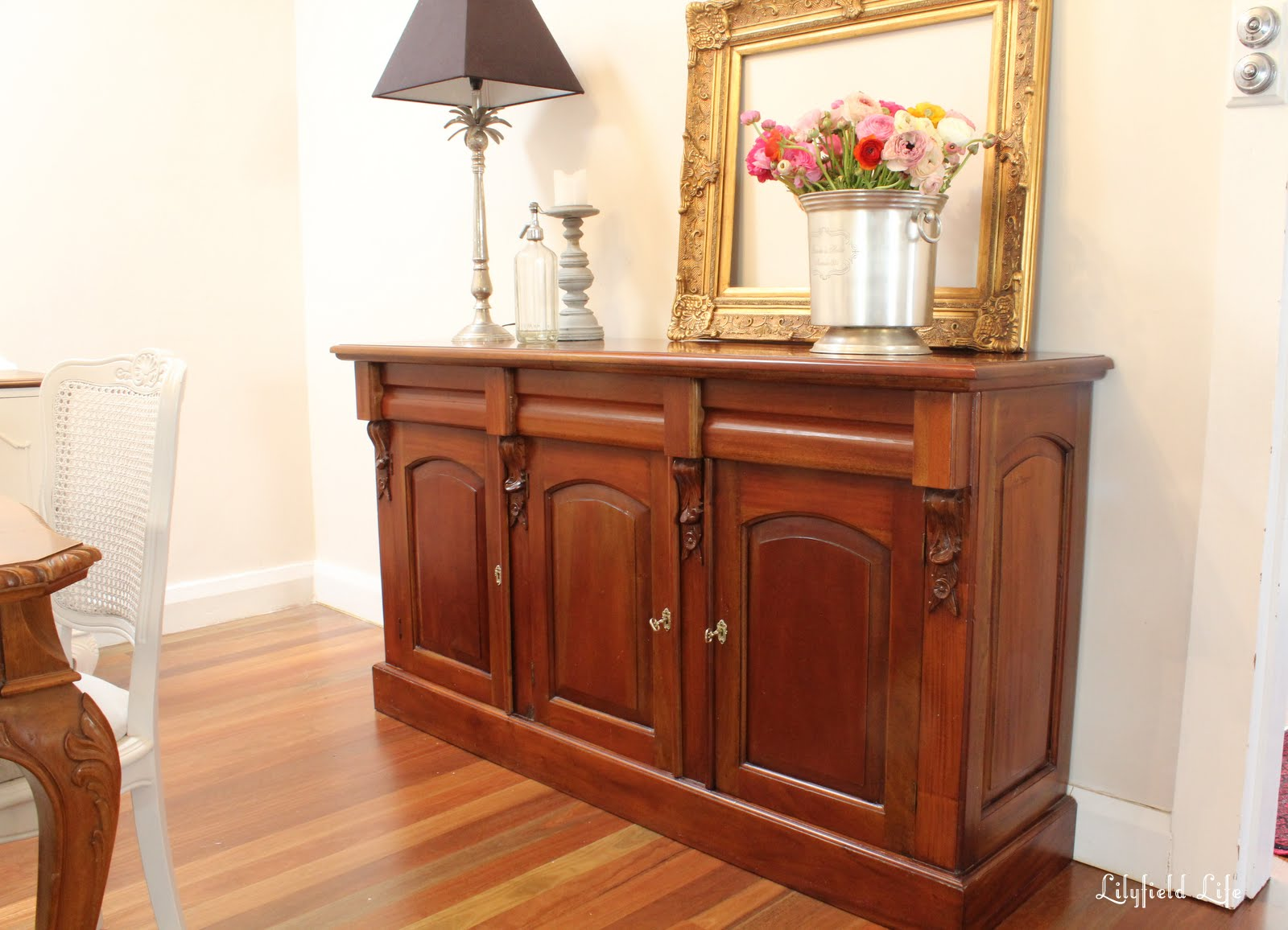 Timber Sideboard Lilyfield Life Carved Timber Sideboard
