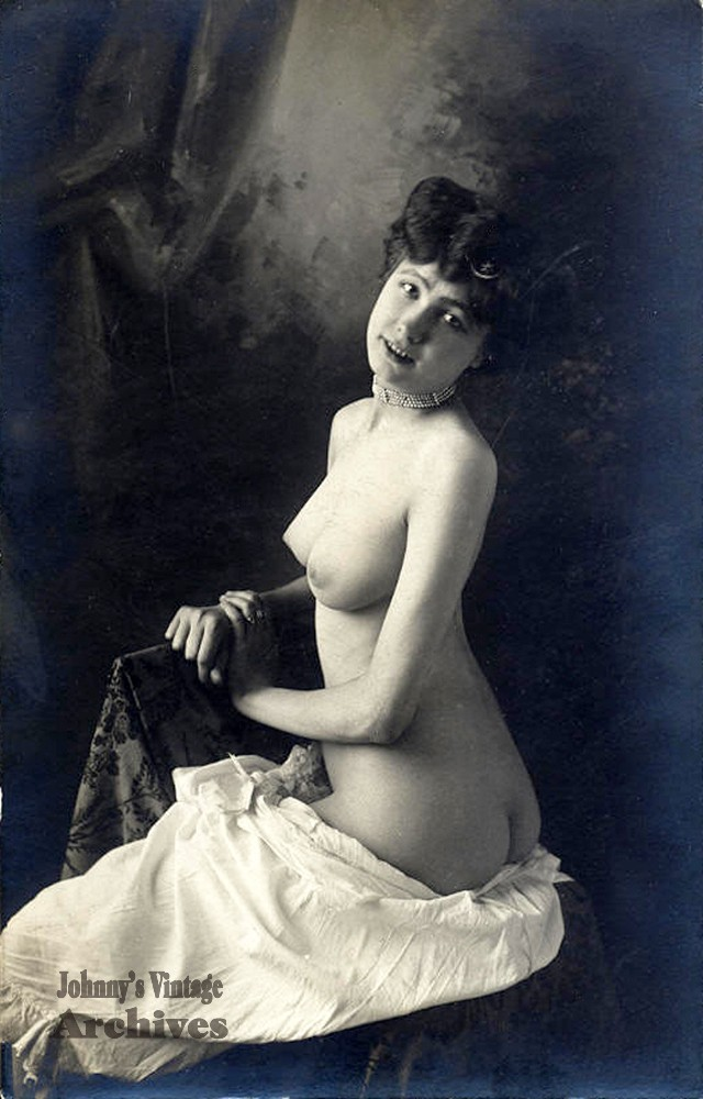 Colored edwardian postcards 2 sexy miss fernande 7