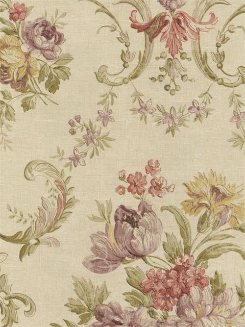 Floral Damask Wallpaper Design