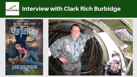 Interview with Clark Rich Burbidge, author of Star Passage