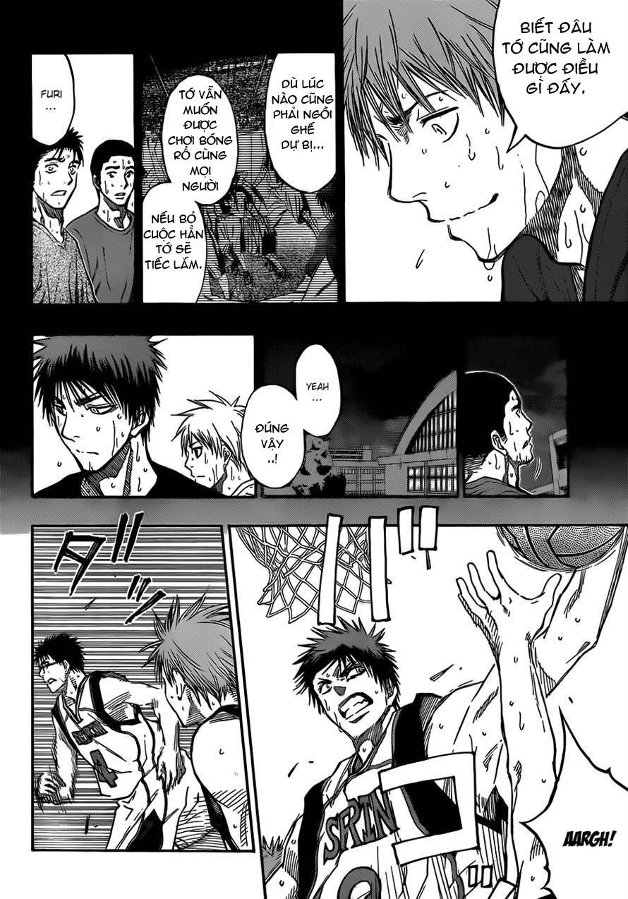 Kuroko No Basket chap 187 trang 16
