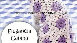 Elegancia Canina al Crochet / 3 modelos para tejer DIY / Tutorial