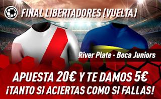 sportium Promo River vs Boca 9 diciembre