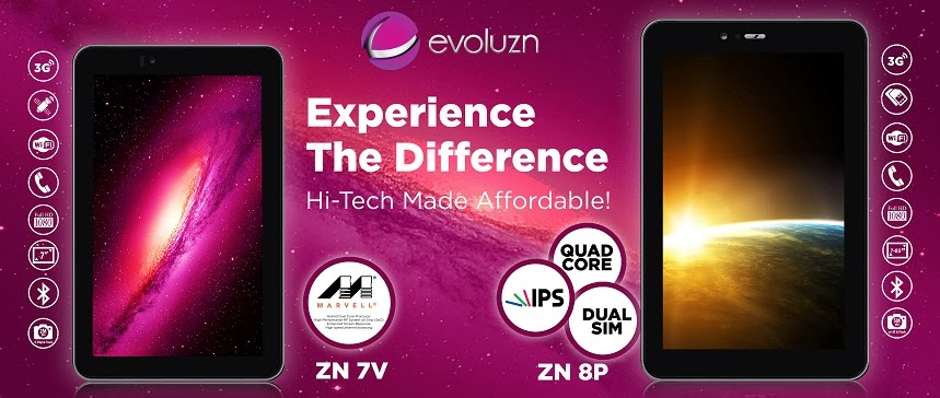 Evoluzn Tablet PCs