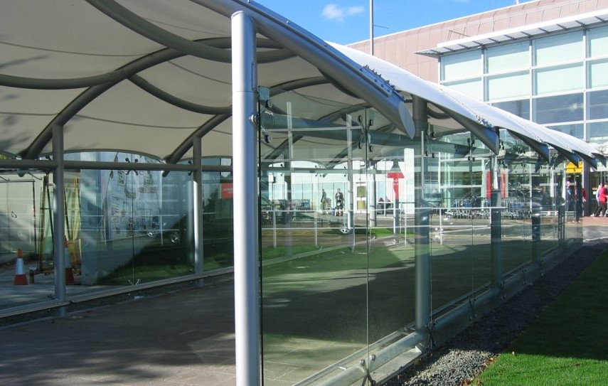 Manufacturers of Waterproof Tensile Fabric Tensile Canopy Details Tensile Fabric Architecture Skylar Walkway Structure Walkway Fabric Tensile Structures ... & Walkway Covering From Building to Building Covered Walkway Canopy ...