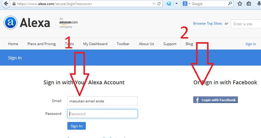 Cara Bikin Membuat Akun Baru Terpercaya di Alexa Terbaru 2014