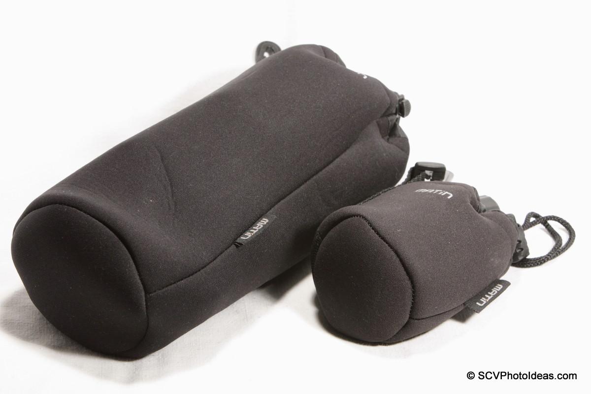 Matin Neoprene drawstring bags XL & S
