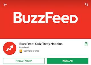 Instant App BuzzFeed