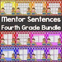 http://www.teacherspayteachers.com/Product/Mentor-Sentences-Fourth-Grade-Bundle-1136024
