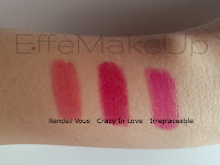 MUA Power Pouts review swatch Rendez Vous Crazy In Love Irreplaceable