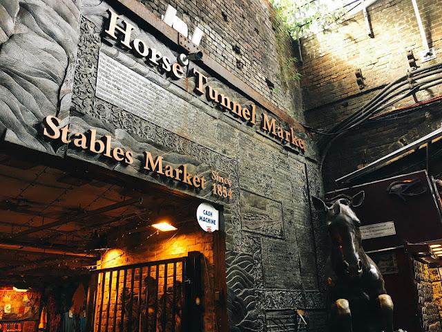 ステーブルズ・マーケット(Stables Market)|Horse Tunnel Market