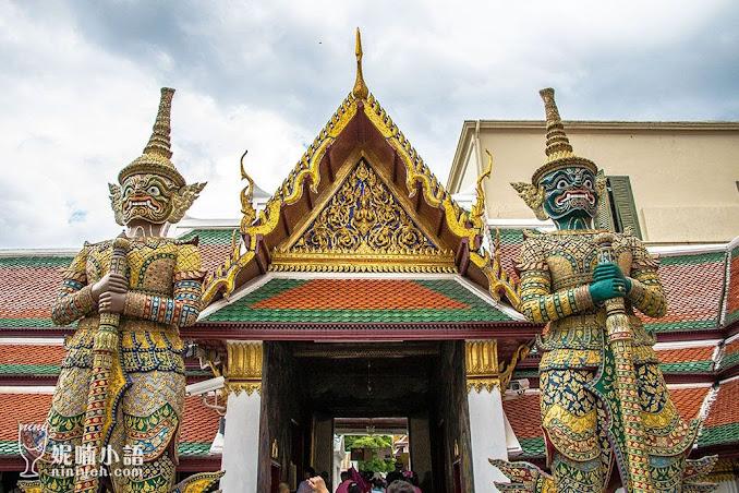 【曼谷景點推薦】玉佛寺大皇宮。最具指標性的國寶級景點
