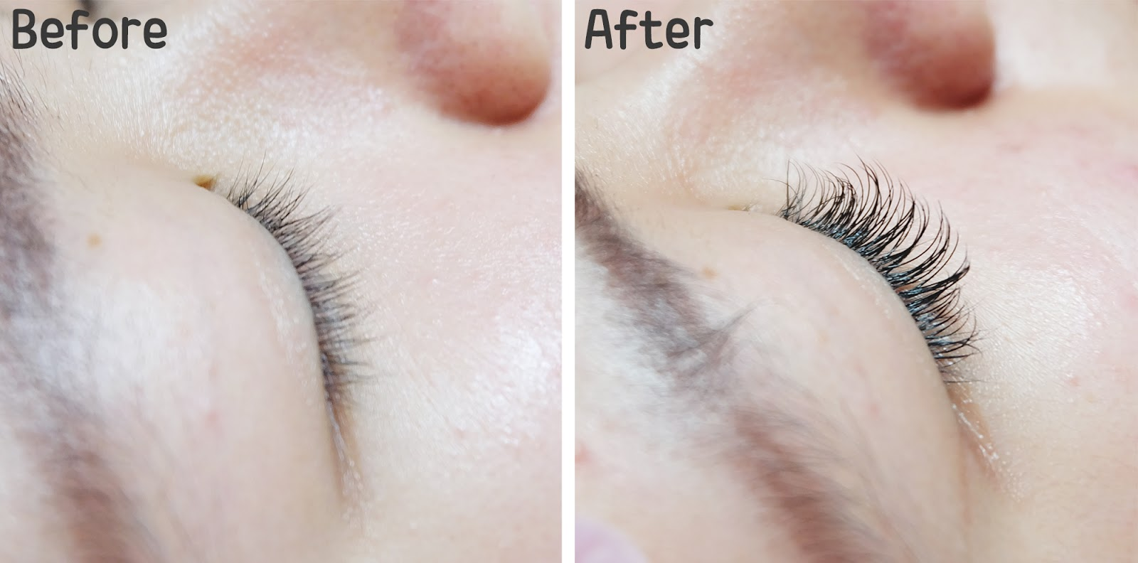 Brie Studio Eyelashes Extension Result | www.bigdreamerblog.com