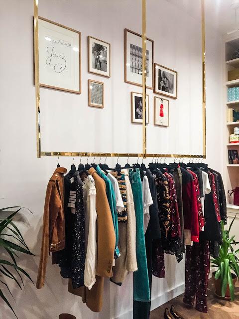 Appartement Sezane New York Paris Store Clothes
