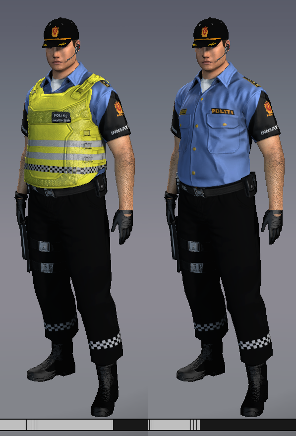 Apb Norway Uniform Norwegian Police Male