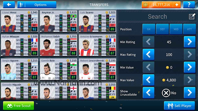 mod dream league soccer 19
