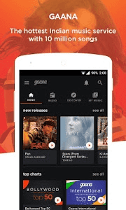 Download Gaana: Bollywood & Hindi Songs APK Free For Android