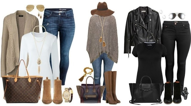 Outfits casuales otoño - invierno