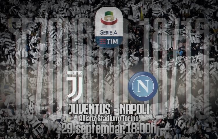 Serie A 2018/19 / 7. kolo / Juventus - Napoli, subota, 18:00h