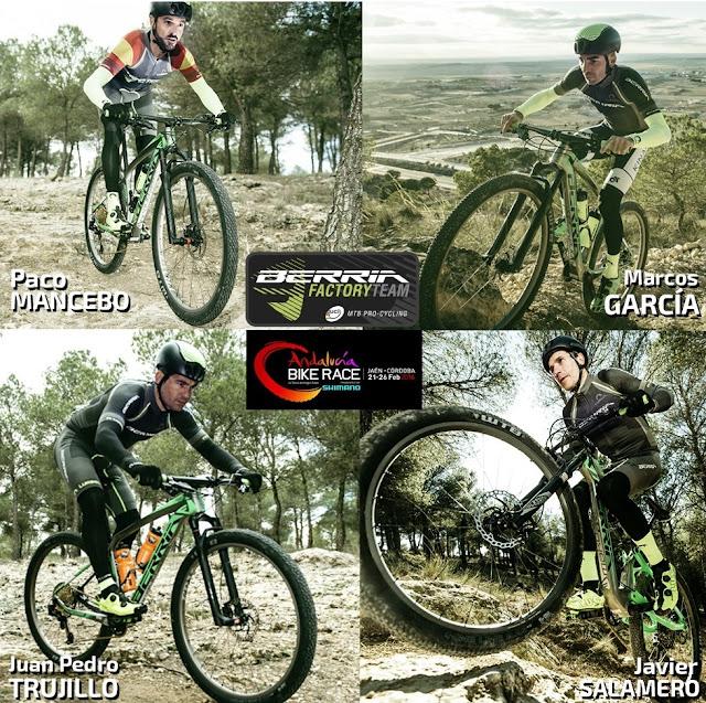 Equipo Berria en la  Andalucía Bike Race 2017
