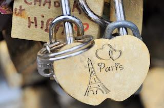 Pont des arts : candado de amor