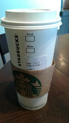 Starbucks Venti Hot Mocha