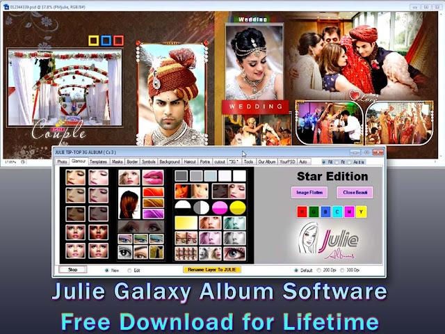 Julie Galaxy Album Software