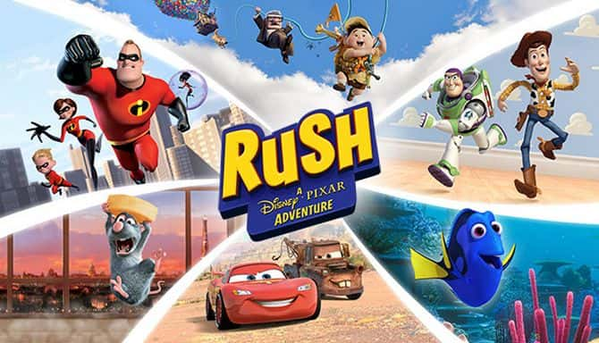 RUSH A DISNEY PIXAR ADVENTURE-CODEX