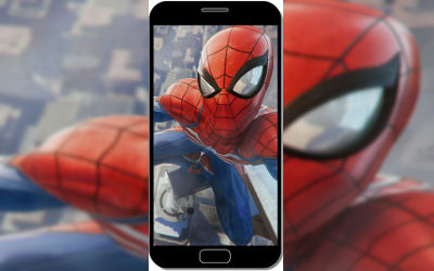 Spider Man Game Playstation 4 - Fond d'Écran en FHD pour Mobile