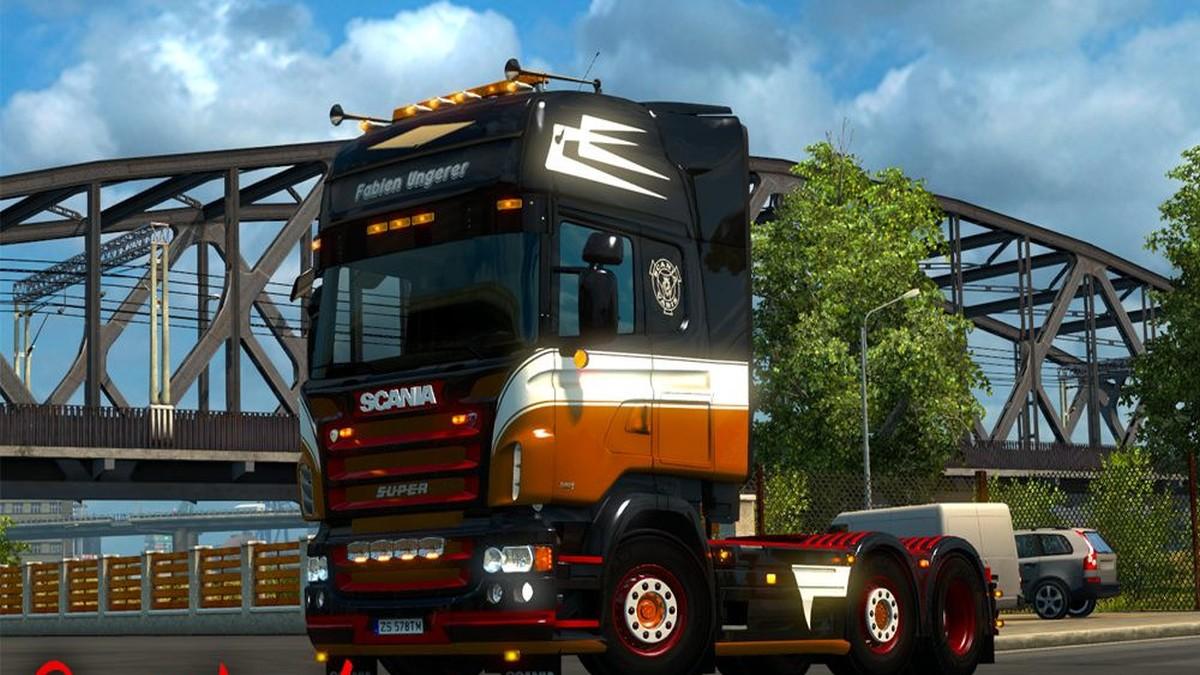Scania RJL Fabien Ungerer Skin