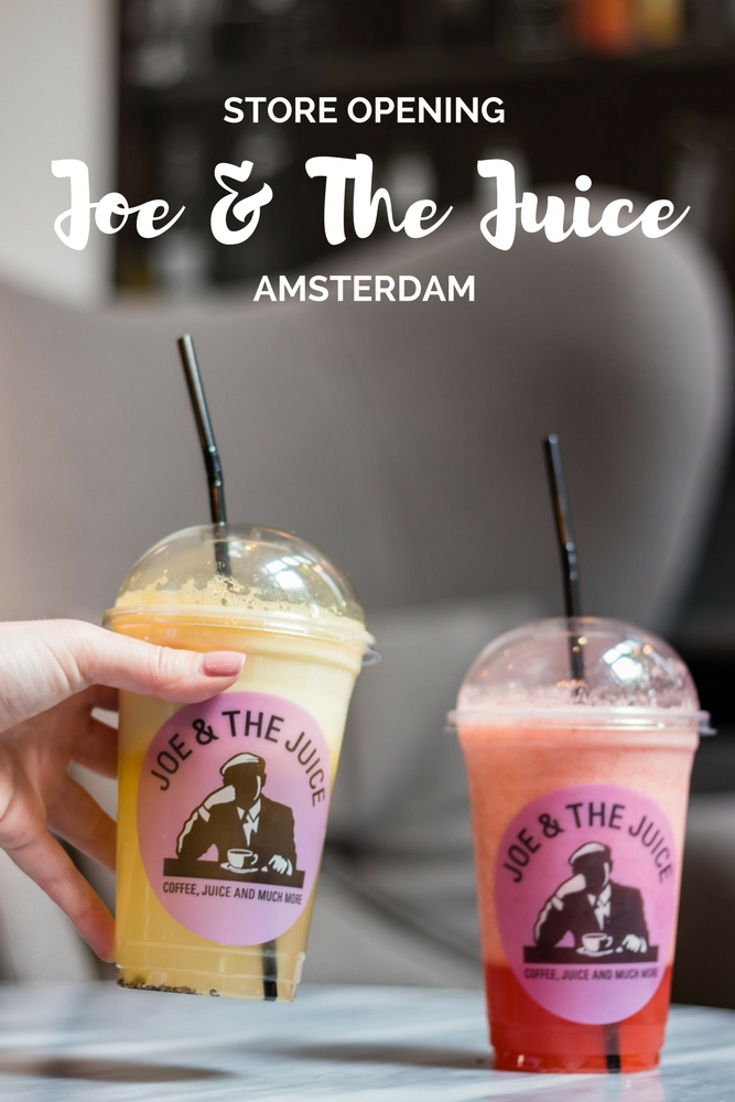 Store opening Joe & The Juice Amsterdam