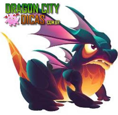 Dragão Sapo de Fogo