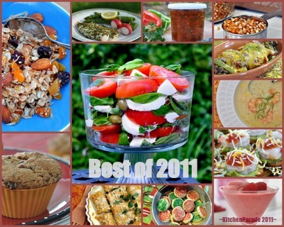 Best Recipes of 2011 ♥ KitchenParade.com, just one per month.