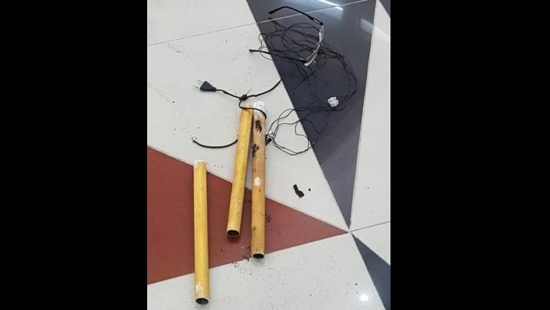 Jenis bom pipa yang digunakan Ivan Armadi Hasugian