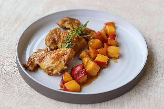 Συνταγή για Κοτόπουλο με Ροδάκινα