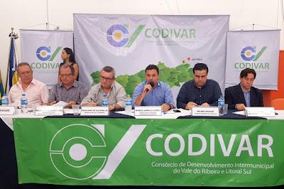 Barra do Turvo sedia reunião do CODIVAR  e do CONSAÚDE na próxima sexta (23)