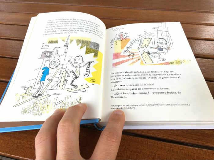 """libro infantil """"Maarón"""" de Hakon Ovreas editado por Barbara Fiore Editora."""