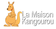 la maison kangourou logo on One Quarter Mama.ca