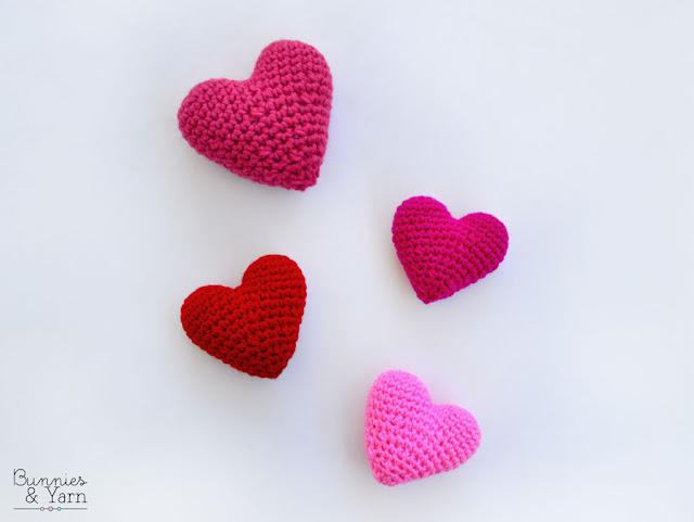 Easy Amigurumi Heart - Free Crochet Pattern - OkieGirlBling'n'Things | 481x640