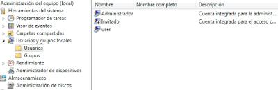 Configurar usuarios y administradores con privilegios para proteger la PC