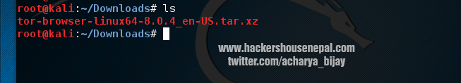 Install TOR in Kali Linux | Step by Step Guide – Bhudki