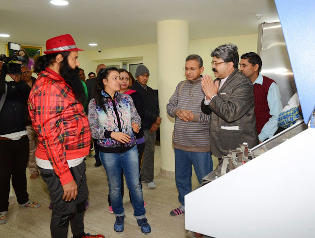 Saint Dr. Gurmeet Ram Rahim Singh Ji Insan inaugurated MSG Skin Bank in Dera Sacha Sauda Sirsa