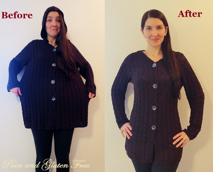 2e5885ae2c DIY Sweater Recon  How to turn a large knit sweater into a smaller one.  From Oversized ...